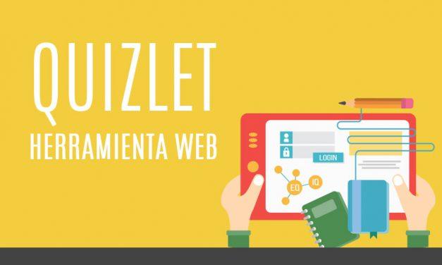 Quizlet herramienta web, facilita el aprendizaje en línea