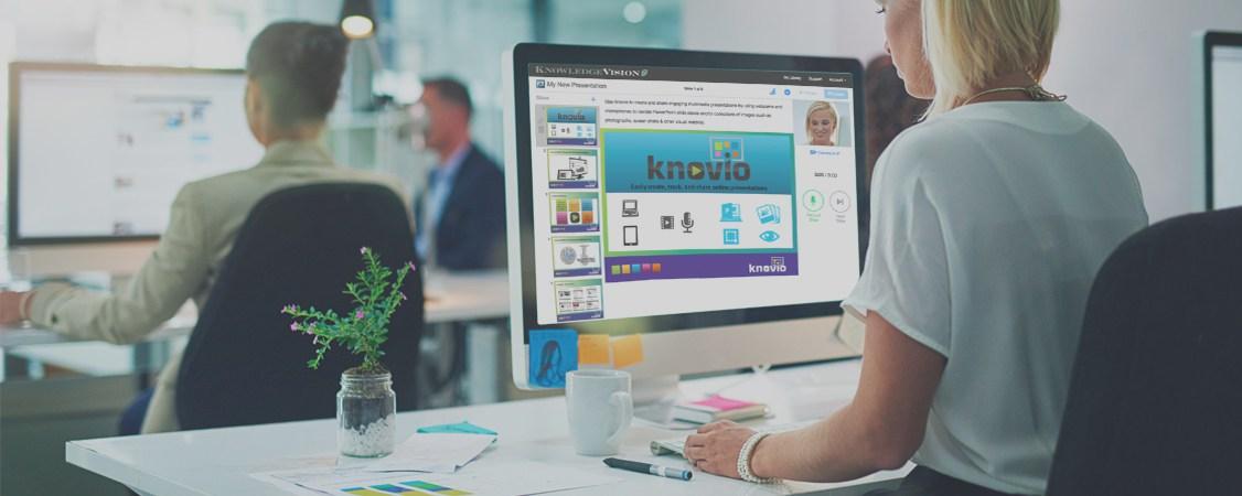 Knovio: Crea presentaciones con video personalizado para tu empresa