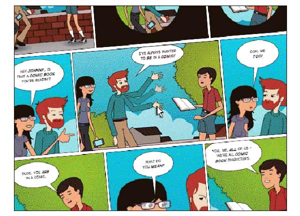 comic educativo